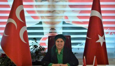 MHP Kadın Kolları Başkanı Alime Yiğit istifa etti