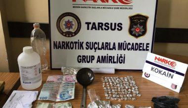 Tarsus'ta son 1 ayda uyuşturucudan 15 kişi tutuklandı