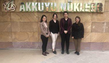 Türk kadın mühendisler, Akkuyu'da sahada çalışmak için gün sayıyor