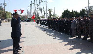 Türk Polis Teşkilatı'nın kuruluşunun 174. yılı törenle kutlandı