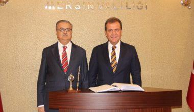 Yeni Başkan Seçer, ilk ziyaretini Vali Su'ya gerçekleştirdi