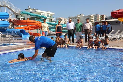 Erdemli Belediyesi, su parkı bayramda açılıyor