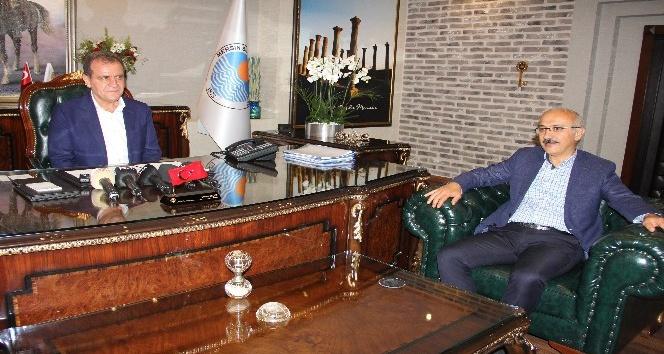 Elvan'dan yeni başkanlara 'hayırlı olsun' ziyareti