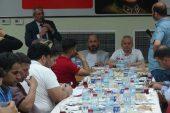 Bozdoğan, basın mensupları ile iftar yemeğinde buluştu.