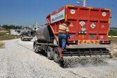 Toroslar'da yol yapım çalışmaları hızlandı