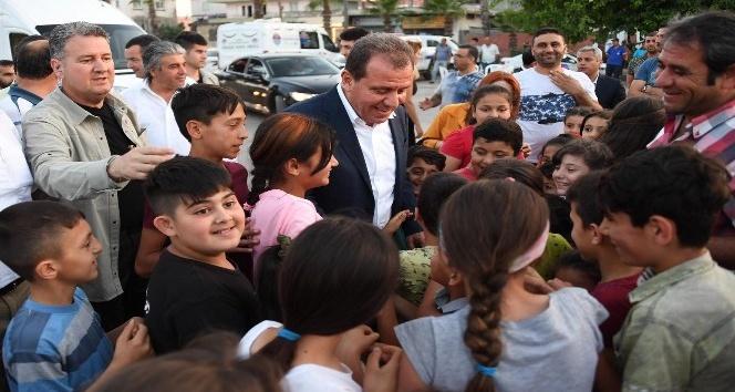 Seçer, vatandaşlarla iftar açtı