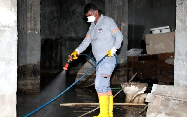 Mersin'de Haşereyle Mücadele Çalışmaları Hızlandı