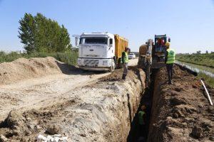 Meski, Karacailyas'a 7 Milyon 720 Bin TL'lik Kanalizasyon Hattı Yapıyor