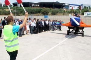 MTOSB öğrencileri 'Model Uçak' üretti