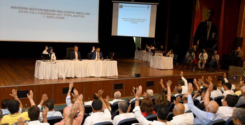 Meclis toplantısında önemli kararlar alındı