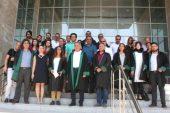 Mersin Barosu avukatları saldırıyı protesto etti