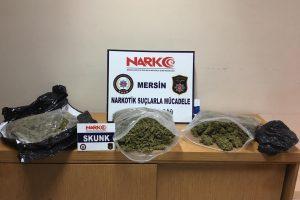 Mersin Emniyetinden dev uyuşturucu operasyonu: 16 kişi tutuklandı