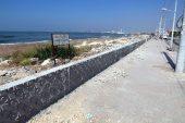 Karaduvar sahili yenileniyor
