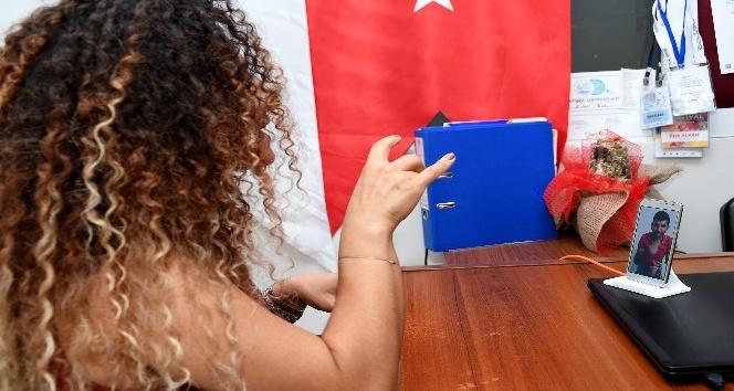 Mersin'de işaret dili ile görüntülü destek ve şikayet hattı kuruldu