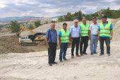 Mut Organize Sanayi Bölgesi'ndeki yol çalışmaları sürüyor