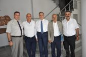 Vali Su'dan Başkan Dinçer'e nezaket ziyareti
