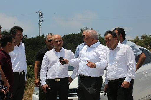ERDEMLİ'DE GIOSB ÇALIŞMALARI BAŞLADI