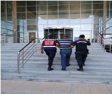 Jandarma, hapis cezaları bulunan 7 kişiyi yakaladı