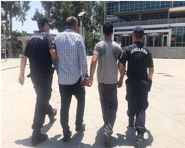 Jandarma çok sayıda aranan şahsı yakaladı, hırsızlık olaylarını çözdü