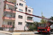 Toroslar'da binalar rengarenk boyanıyor