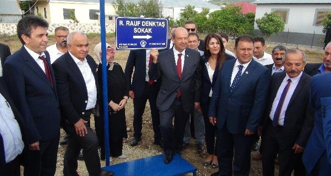 KKTC Başbakanı Ersin Tatar Erdemli de