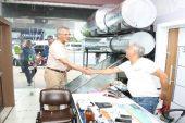 Başkan Tarhan, vatandaşlarla bir araya geldi