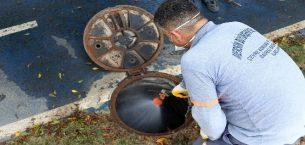 Mersin Büyükşehir Belediyesi ekiplerinin ilaçlama çalışmaları devam ediyor