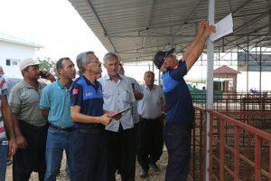 Erdemli  Belediyesi, Kurban Bayramı öncesi hazırlıklarını  tamamladı