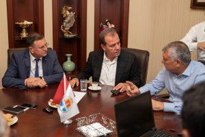 3 Büyükşehir Belediye başkanı sorunları görüştü