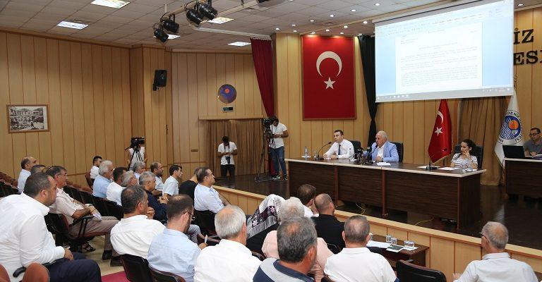Akdeniz Belediyesi Eylül Ayı Meclis Toplantısını Gerçekleştirdi