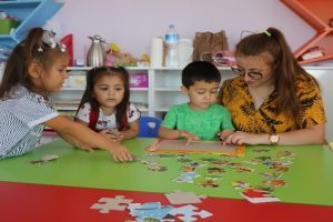 Erdemli Belediyesi kreşi, yeni eğitim sezonuna başladı