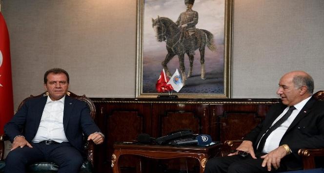 Irak'ın Ankara Büyükelçisi Mersin de