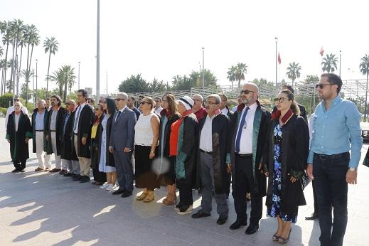 Yeni adli yıl açılışı için tören düzenlendi