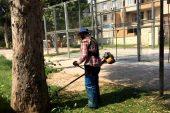 TOROSLAR'DA YEŞİL ALANLARA BAHAR BAKIMI