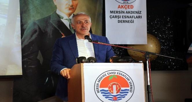 """""""Üç yıl içinde Akdeniz'den giden kurumları Akdeniz merkeze taşıyacağız"""""""