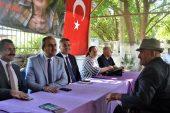 İl Sağlık Müdürü Dr.Sinan Bahçacı'dan Vefa Ziyareti