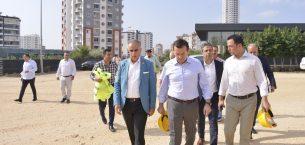 Özyiğit, inşaat sektörü temsilcileriyle buluştu
