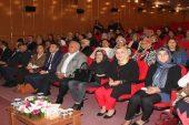 Erdemli'de kadına şiddete hayır programı