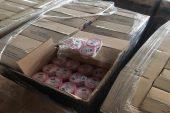 Sipariş adresine teslim edilmeyen kozmetik ürünler depoda bulundu