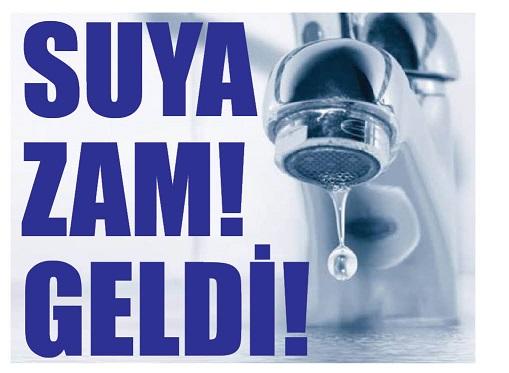 SUYA ZAM GELDİ