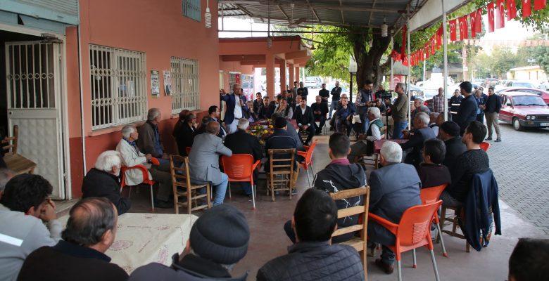 Başkan Gültak, kırsal mahalle ziyaretlerine devam ediyor