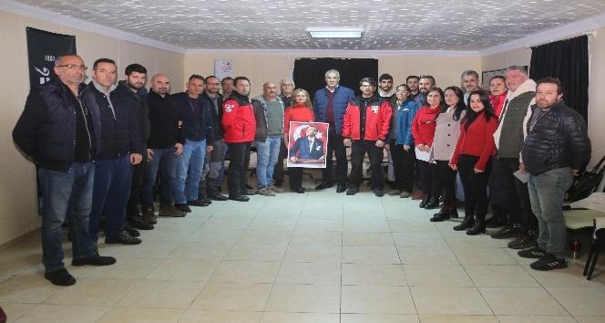 """""""AKUT'un temel amacı arama, kurtarma operasyonları ve afetlere dayanıklı bir Türkiye oluşturmaktır"""""""