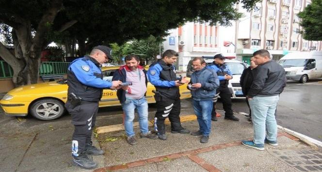 Taksi şoförleri asayiş olayları konusunda bilgilendirildi