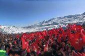 Toroslar Belediyesi, kentte bir ilki gerçekleştirerek Kar Festivali düzenledi.
