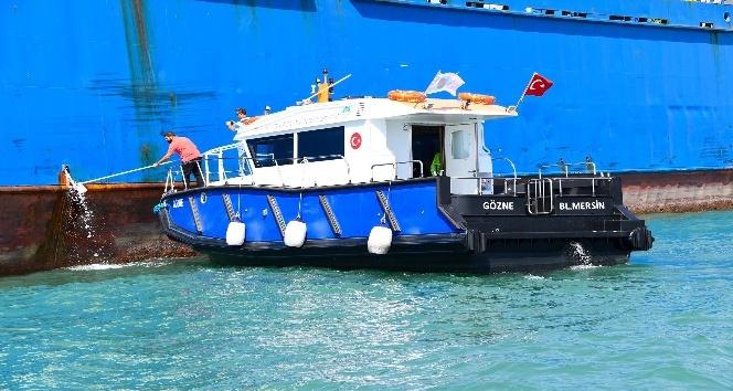 Denizi kirleten gemilere 34 milyon lira ceza yazıldı