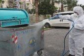 Erdemli'de dezenfekte çalışmaları sürüyor