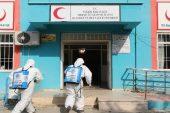 Akdeniz ilçesinde dezenfekte çalışmaları kırsal mahallelerde de sürüyor