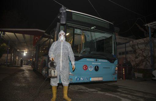 Mersin Büyükşehir Belediyesi'nde tüm birimler kırmızı alarm durumuna getirildi