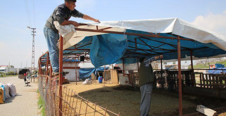 Tırmıl hayvan pazarı kaldırıldı