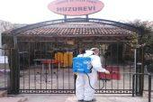 Toroslar da dezenfekte çalışmaları devam ediyor